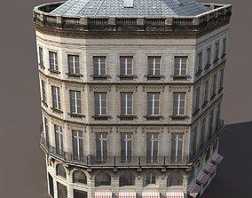 Apartment House architecture 3D model