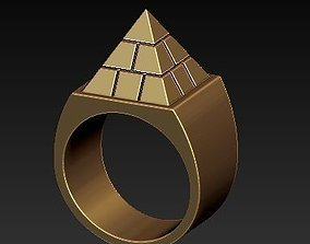 Pyramid ring 3D download