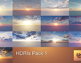 HDRI Skies 12K 3D model