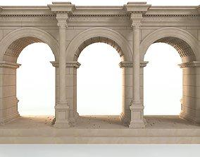 Hadrians Gate Old Town - Antalya 3D printable model 3