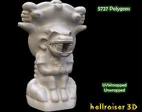 3D asset Mayan Statue