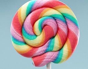 3D model Lolly Lollipop Lick Stick