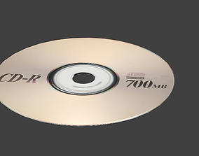 Realistic Compact Disk Model CD VR / AR ready