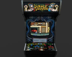 arcade 3D model Double Dragon Arcade