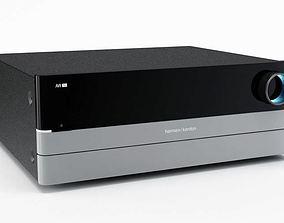 3D model DVD blu ray player 44 AM77