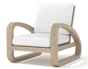 3D model Restoration Hardware pascal chair