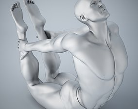 3D print model Man yoga 017