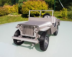 3D print model WWII Army truck