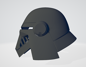 Second sister Inquisitor helmet - Star 3D print model