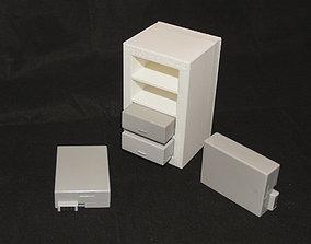 3D printable model LP-E8 Battery Four Slot Storage