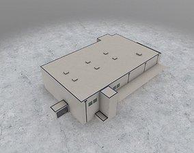 Technical Building 2 3D model