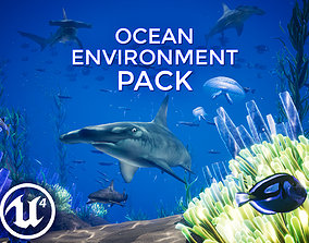3D asset Ocean Environment Pack - UE4