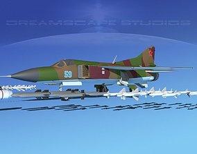3D Mig 23 Flogger B V09 Russia