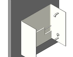 Tub Shower Enclosure 3D