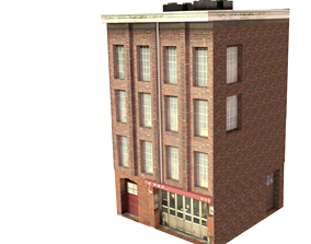 game-ready 3d building new york