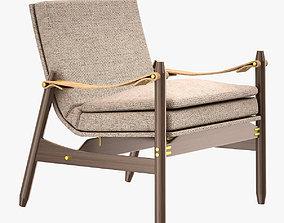 Poltrona Ipanema Lounge Chair 3D model