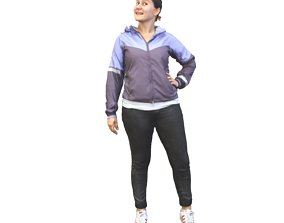 3D No319 - Woman Standing