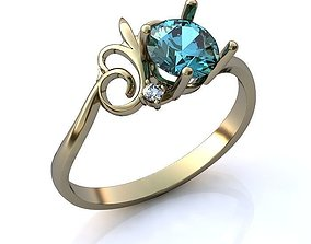 Ring BK017 3D