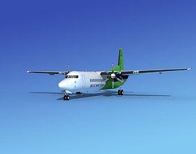 Fokker 50 Blue Mtn Aviation 3D