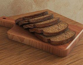 miscellaneous Bread 3D model