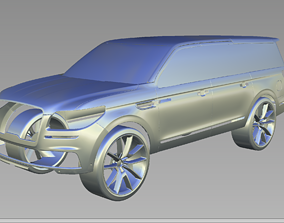 2019 Lincoln Navigator 3D Scan Data 3D model 3D print