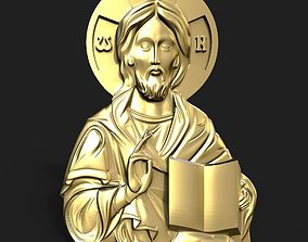 Jesus pendant 3D printable model