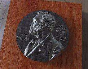 3D printable model A replica of the Nobel medal Avers