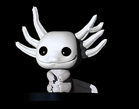 Custom Funko pop Axolote 3D printable model
