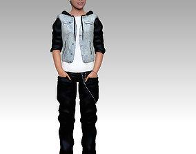 3D model Justin Bieber zbrush