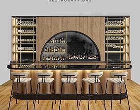 3D model Restaurant bar 5