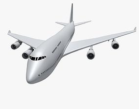 3D model Boeing 747-400 2