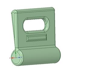 Nylon Internal Flat Slide and Slug ABZ258 3d-print