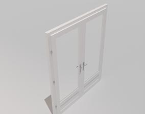 3D model Double Door Glass