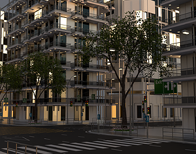 3D City Intersection 103