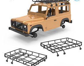 Land Rover Defender Roof Luggage 3D printable model