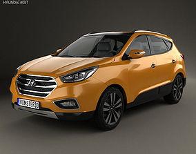 3D model Hyundai Tucson ix35 Korea 2013