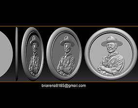 3D printable model Lord Baden-Powell
