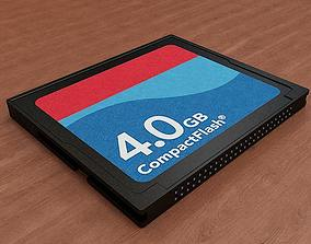 3D model CF Card