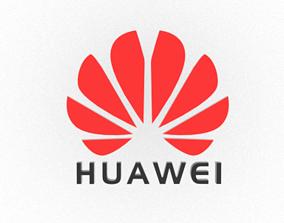 Huawei Logo 3D model