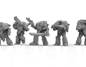 Knights of Roma - Direwolf Devestation 3D print model 1