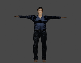 Old Man In Late 60s 3D asset