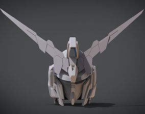 RX-0 Unicorn Gundam 01 Full Armor Head 3D printable model