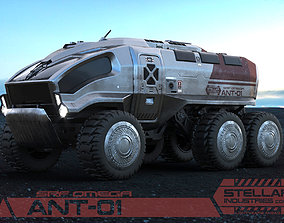 3D Planetary Rover ANT-01 Stellar Industries corp