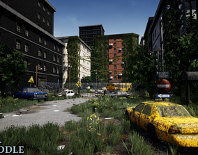 Post Apocalyptic World Vol I for Unreal Engine 3D asset
