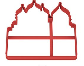 Saint Sophia Cathedral cookie cutter 3D printable model 1