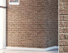 Brick wall 140 3D model