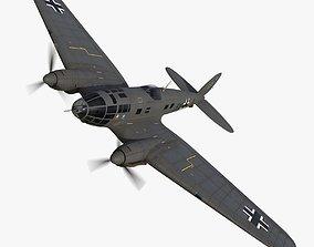 3D asset Heinkel He 111 6N-CK