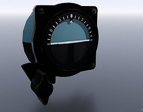 3D model JAPANESE ARTIFICIAL HORIZON