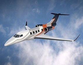 Embraer Phenom 300 business jet 3D model