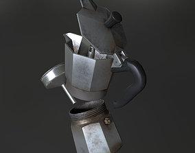 3D asset Old Italian Kettle